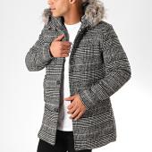 /achat-manteaux/uniplay-manteau-a-carreaux-avec-capuche-fourrure-rs15-gris-202034.html