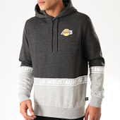 /achat-sweats-capuche/new-era-sweat-capuche-nba-colour-block-los-angeles-lakers-12123918-gris-anthracite-chine-gris-chine-202264.html