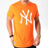 /achat-t-shirts/new-era-tee-shirt-mlb-seasonal-team-logo-new-york-yankees-12123932-orange-202271.html