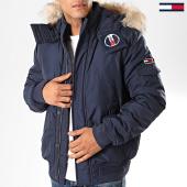 /achat-blousons/tommy-jeans-blouson-capuche-fourrure-tech-6906-bleu-marine-202384.html