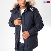 /achat-parkas/tommy-jeans-parka-capuche-fourrure-tech-6907-bleu-marine-202385.html