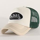 /achat-trucker/von-dutch-casquette-trucker-foam-beige-vert-202362.html