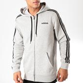 /achat-sweats-zippes-capuche/adidas-sweat-zippe-capuche-a-bandes-essentials-du0476-gris-chine-noir-202451.html