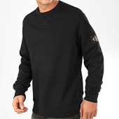 /achat-sweats-col-rond-crewneck/calvin-klein-sweat-crewneck-monogram-sleeve-badge-4035-noir-202390.html