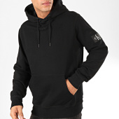 /achat-sweats-capuche/calvin-klein-sweat-capuche-monogram-sleeve-badge-4036-noir-202391.html