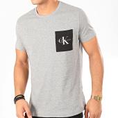 /achat-t-shirts-poche/calvin-klein-tee-shirt-poche-monogram-4070-gris-chine-202397.html