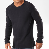 /achat-pulls/calvin-klein-tee-shirt-manches-longues-waffle-monogram-sleeve-4168-bleu-marine-202402.html