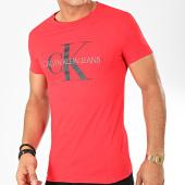 /achat-t-shirts/calvin-klein-tee-shirt-monogram-logo-4551-rouge-202435.html