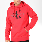 /achat-sweats-capuche/calvin-klein-sweat-capuche-monogram-4557-rouge-202440.html