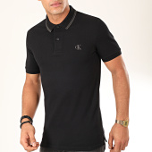 /achat-polos-manches-courtes/calvin-klein-polo-manches-courtes-essential-tipping-4565-noir-gris-202444.html