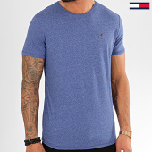 /achat-t-shirts/tommy-jeans-tee-shirt-essential-jaspe-4792-bleu-chine-202414.html
