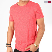 /achat-t-shirts/tommy-jeans-tee-shirt-essential-jaspe-4792-rouge-chine-202415.html