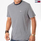 /achat-t-shirts/tommy-jeans-tee-shirt-classics-stripe-5515-bleu-marine-blanc-202416.html