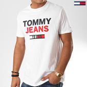 /achat-t-shirts/tommy-jeans-tee-shirt-1985-logo-7537-blanc-202447.html