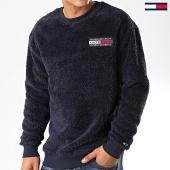 /achat-sweats-col-rond-crewneck/tommy-jeans-sweat-crewneck-fourrure-plush-fleece-7395-bleu-marine-202461.html