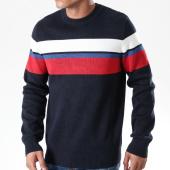 /achat-pulls/celio-pull-blocus-bleu-marine-rouge-blanc-202557.html
