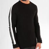 /achat-pulls/ikao-pull-a-bandes-f597-noir-202485.html
