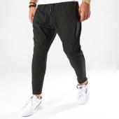 /achat-pantalons-carreaux/ikao-pantalon-a-rayures-f687-noir-202495.html