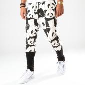 /achat-pantalons-joggings/ikao-pantalon-jogging-f697-noir-blanc-202503.html
