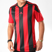 /achat-t-shirts/adidas-tee-shirt-a-bandes-striped-15-aa3726-rouge-noir-202617.html