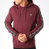 /achat-sweats-capuche/fred-perry-sweat-capuche-taped-sleeve-j7528-bordeaux-202639.html