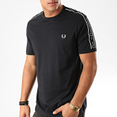 /achat-t-shirts/fred-perry-tee-shirt-a-bandes-taped-shoulder-m7513-noir-202643.html