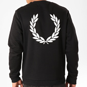 /achat-sweats-col-rond-crewneck/fred-perry-sweat-crewneck-printed-laurel-m7588-noir-202648.html