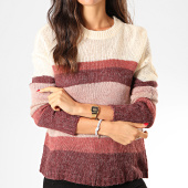 /achat-pulls/only-pull-femme-a-rayures-cordelia-rose-violet-beige-202661.html