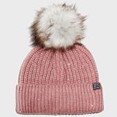 /achat-bonnets/superdry-bonnet-femme-erin-embelished-rose-202592.html