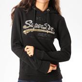 /achat-sweats-capuche/superdry-sweat-capuche-femme-vintage-logo-ombre-sequin-entry-w2000108a-noir-dore-202600.html