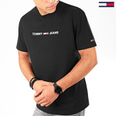 /achat-t-shirts/tommy-jeans-tee-shirt-straight-small-logo-7621-noir-202586.html