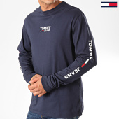 /achat-t-shirts-manches-longues/tommy-jeans-tee-shirt-manches-longues-corp-7431-bleu-marine-202601.html