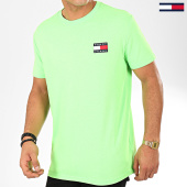 /achat-t-shirts/tommy-jeans-tee-shirt-tommy-badge-neon-8123-vert-202605.html