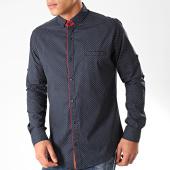 /achat-chemises-manches-longues/black-needle-chemise-manches-longues-y-3433-bleu-marine-202800.html