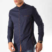 /achat-chemises-manches-longues/black-needle-chemise-manches-longues-y-3433-bleu-marine-marron-202803.html