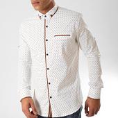 /achat-chemises-manches-longues/black-needle-chemise-manches-longues-y-3432-blanc-casse-marron-202805.html