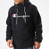 /achat-sweats-capuche/champion-sweat-capuche-fourrure-213681-bleu-marine-202698.html