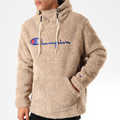 /achat-sweats-capuche/champion-sweat-capuche-fourrure-213681-beige-202699.html