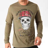 /achat-t-shirts-manches-longues/paname-brothers-tee-shirt-manches-longues-mathias-vert-kaki-202813.html