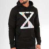 /achat-sweats-capuche/riles-sweat-capuche-logo-iridescent-noir-202740.html