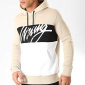 /achat-sweats-capuche/wrung-sweat-capuche-flow-beige-blanc-noir-202767.html