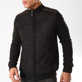 /achat-vestes/black-needle-veste-zippee-suedine-f-104-noir-marron-202833.html