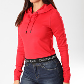 /achat-sweats-capuche/calvin-klein-sweat-capuche-femme-logo-elastic-milano-2892-rouge-202918.html