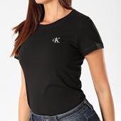/achat-t-shirts/calvin-klein-tee-shirt-femme-ck-embroidery-2883-noir-202935.html
