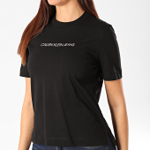 /achat-t-shirts/calvin-klein-tee-shirt-femme-shrunken-institutional-logo-2879-noir-202942.html