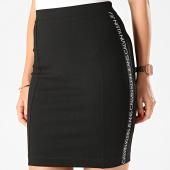 /achat-jupes/calvin-klein-jupe-femme-a-bandes-milano-logo-elastic-3187-noir-202943.html