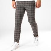 /achat-pantalons-carreaux/classic-series-pantalon-carreaux-x-663-marron-fonce-202850.html
