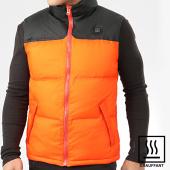 /achat-doudounes/john-h-doudoune-sans-manches-chauffante-99-8-orange-noir-202867.html
