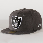 /achat-fitted/new-era-casquette-59fifty-heather-essential-12134983-oakland-raiders-gris-anthracite-chine-202892.html