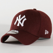 /achat-fitted/new-era-casquette-fitted-39thirty-heather-essential-12134986-new-york-yankees-bordeaux-202893.html
